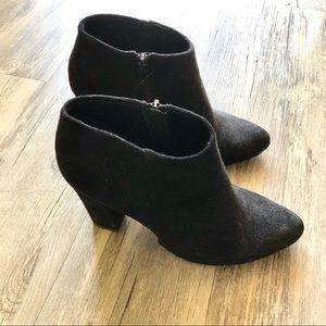 Lulu's Black Heeled Booties